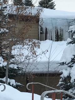 Giant icicles