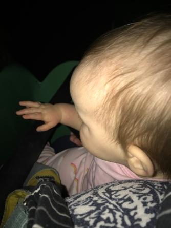 Her first Disney ride