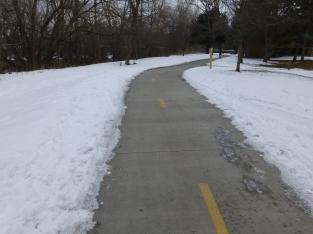 Clear trail